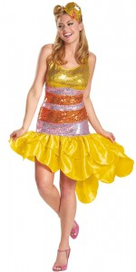 Big Bird Womens Costume