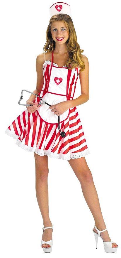 Kids Candy Striper Costume