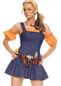 Construction Worker Costume Female