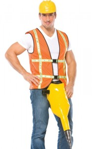 Construction Worker Costume Men