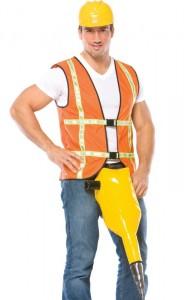 Construction Worker Costume Men