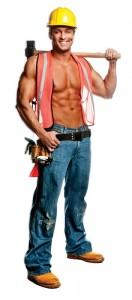 Construction Worker Costume for Men