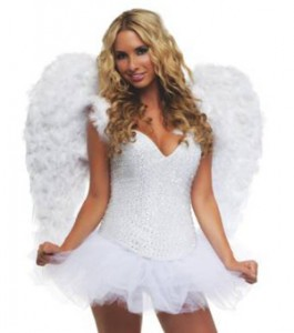Costume Angel Wings for Adults
