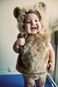 DIY Baby Lion Costume