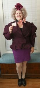 DIY Effie Trinket Costume