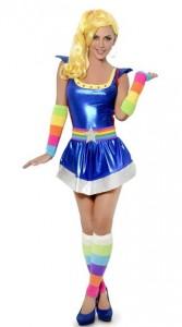 DIY Rainbow Bright Costume