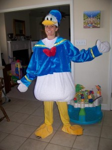 Donald Duck Adult Costume