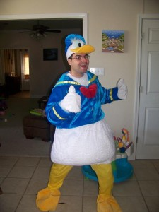 Donald Duck Halloween Costume