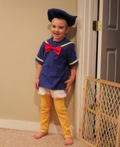 Donald Duck Kids Costume