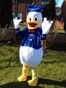 Donald Duck Mascot Costume