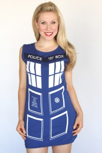 Dr Who Tardis Costume
