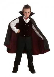 Dracula Costume Boys