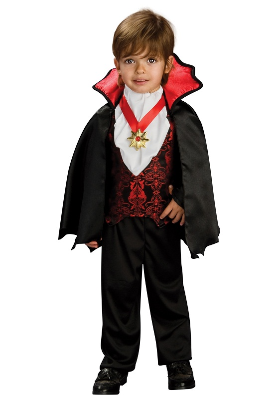For the kids, we have a not so scary Morticia, a Monster High Dracularua and a Classic Vampire Costume that are sure to please. Our collection of Vampire costumes include something for toddlers, kids, teens/tweens and adults.