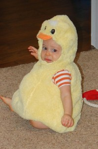 Duck Costume Baby