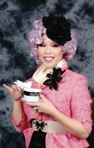Effie Trinket Costume Pink