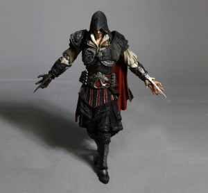 Ezio Black Costume