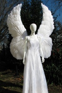 Feather Angel Wings Costume
