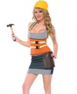 Female Construction Worker Costume
