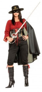 Female Zorro Costume