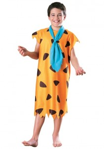 Fred Flintstone Costume Kid