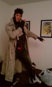Gambit Halloween Costume