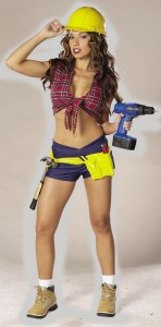 Girl Construction Worker Costume