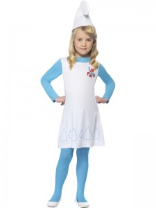 Girl Smurf Costume