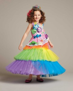 Girls Candy Costume