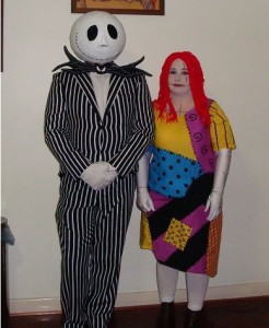 Jack Skellington and Sally Costumes