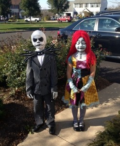 Jack and Sally Costumes Kids