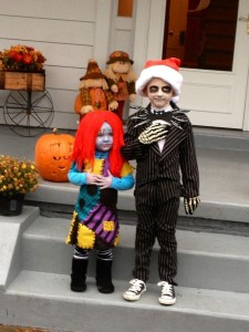 Jack and Sally Costumes for Kids