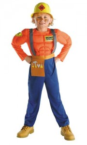Kids Construction Worker Costume