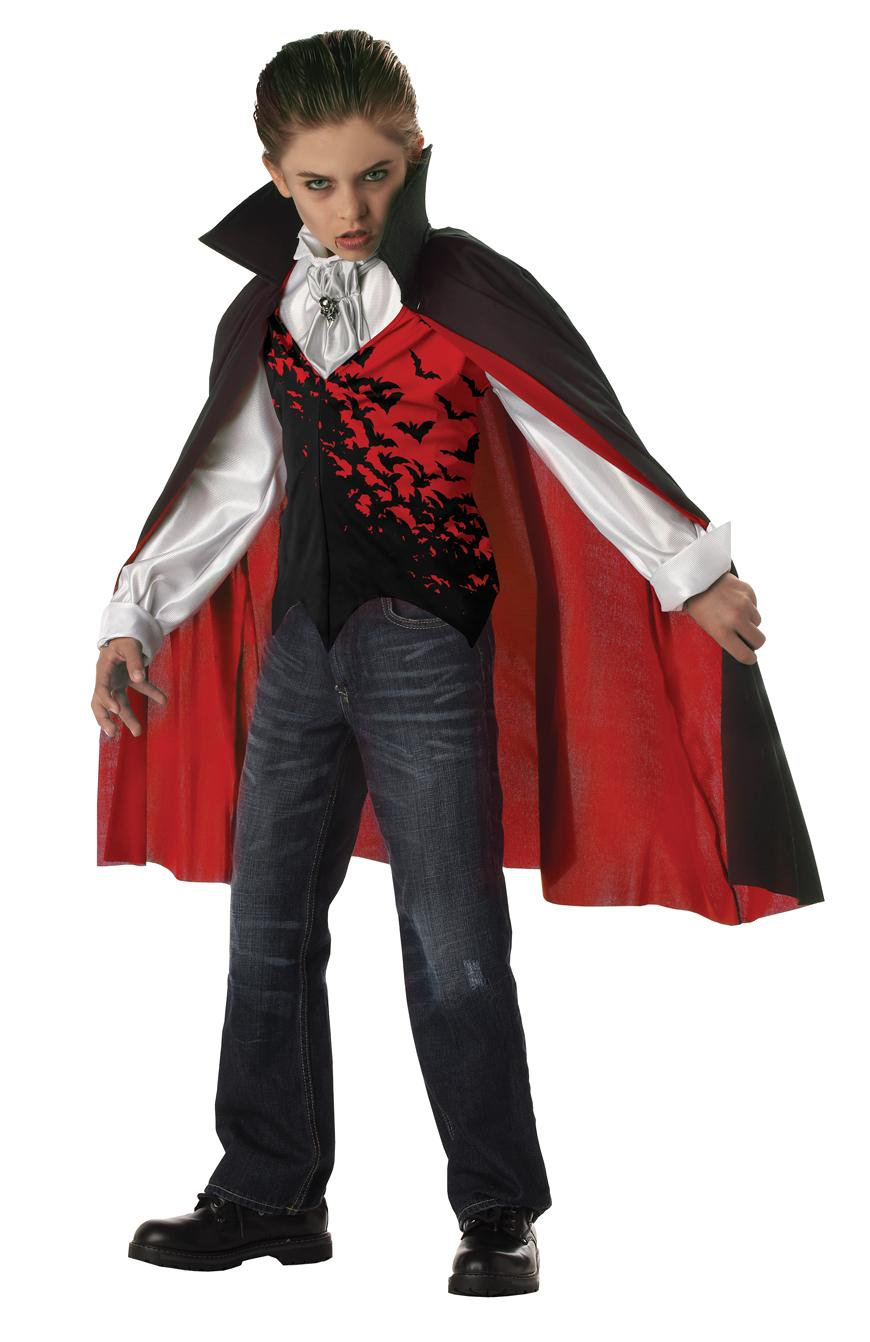 Kids can get in on the vampire act, too! Whether an infant or a teen, we have a costume that will fit. You can be classy or sassy, modern or traditional, creepy or charming!