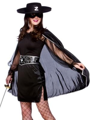 Zorro Costumes For Men Women Kids Parties Costume  sc 1 st  Meningrey & Zorro Lady Costume - Meningrey