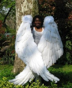 Large Angel Wings Costume