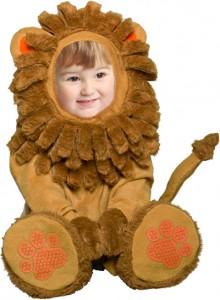 Lion Costume Baby