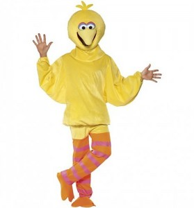 Mens Big Bird Costume