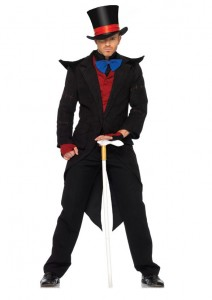 Mens Magician Costume