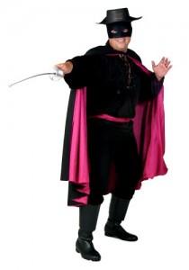Mens Zorro Costume