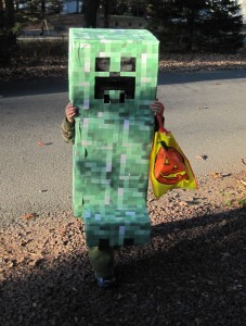 Minecraft Creeper Costume for Kids