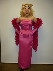 Miss Piggy Costume Adults