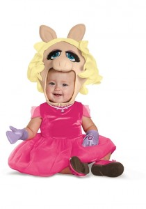 Miss Piggy Costume Baby