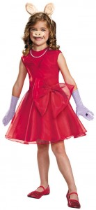 Miss Piggy Costume Child