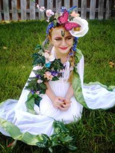 Mother Nature Costume Child