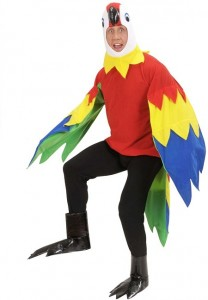 Parrot Costume Adult