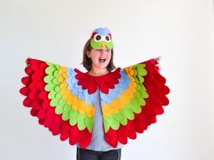 Parrot Costume Kids
