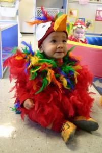 Parrot Halloween Costume Baby
