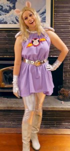 Plus Size Miss Piggy Costume
