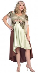 Plus Size Mother Nature Costume