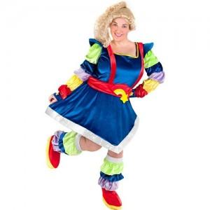 Plus Size Rainbow Bright Costume